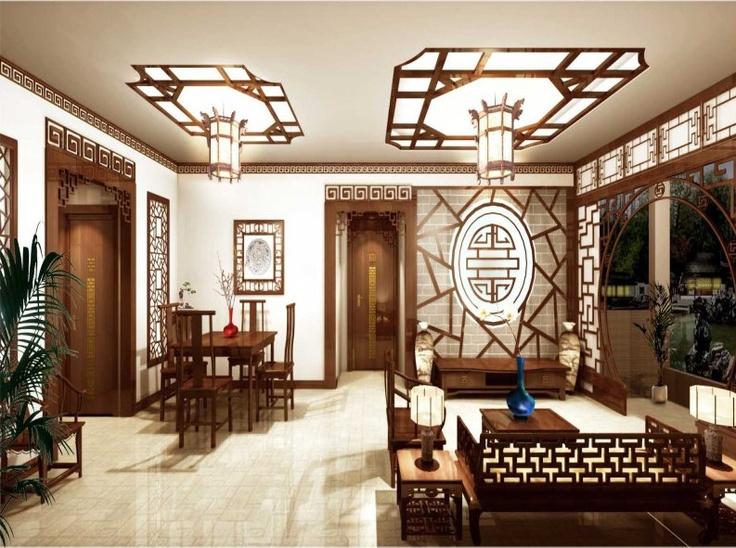 Chinese INTERIOR DECOR! | teashop | Pinterest