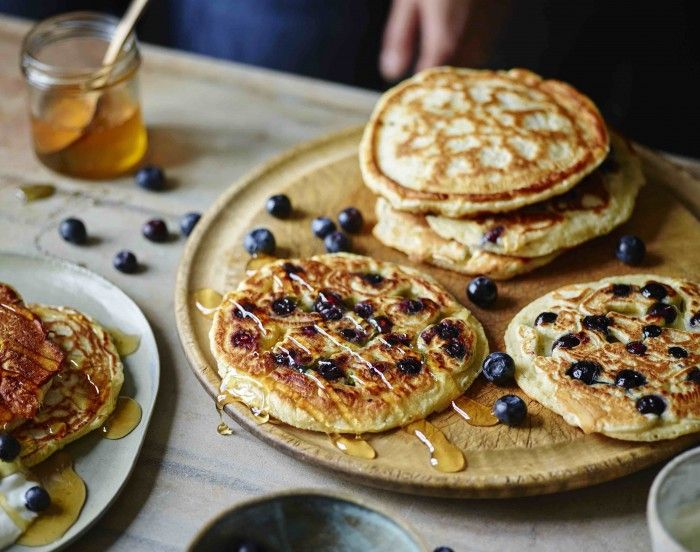 American-style blueberry pancakes / The Body Coach Blog / The Body Coach