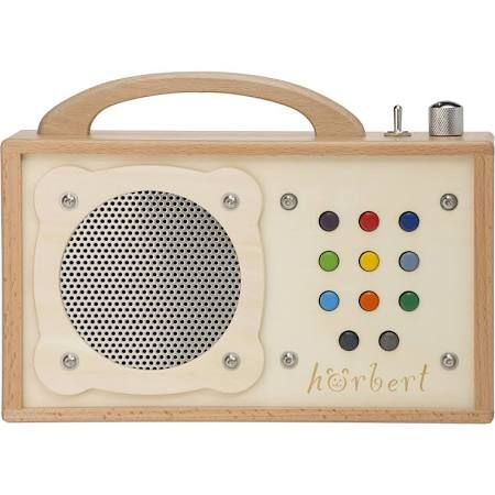 hörbert - MP3 Player for Kids. Aus Holz. Made in Germany