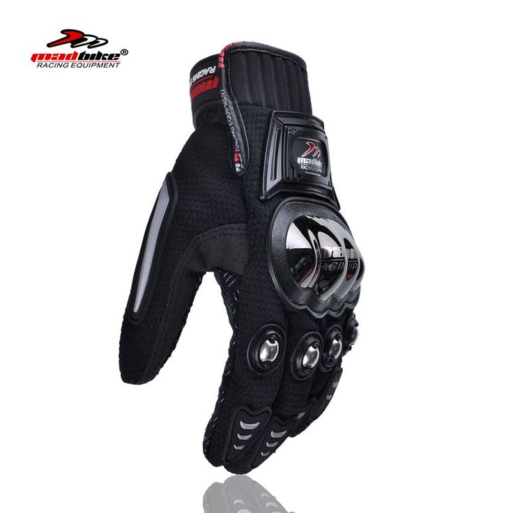 Madbike motorcycles racing gloves to motorcycle riders motorbike guantes de ciclismo full finger black luvas da motocicleta moto