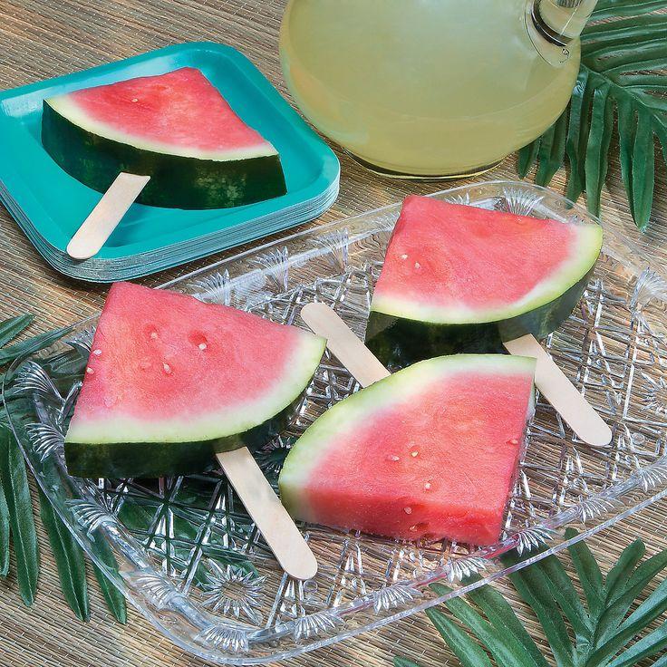 Watermelon Pops - OrientalTrading.com  Magical Monday  www.kpoindexter.wordpress.com