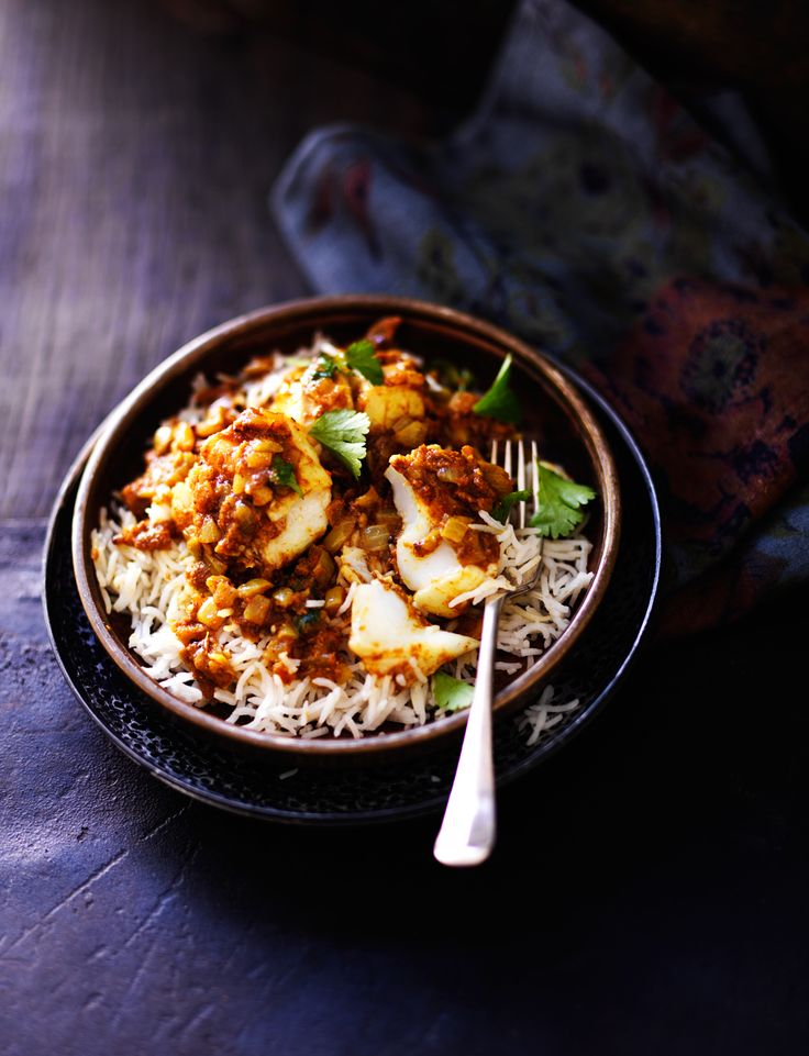 Anjum Anand has created this aromatic fish curry using a light peppery spice mix which can be used in a variety of curries