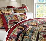Pottery Barn: Bandana Patchwork Quilt, Twin, Multicolor