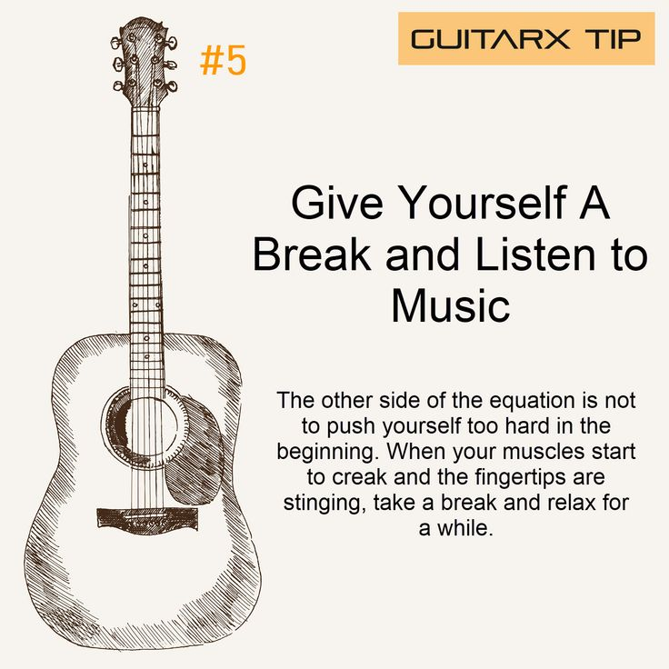 Don't ignore the danger signs that you need a rest.  You're not superman!  #guitarx #guitarxtips #guitartips #learnguitar