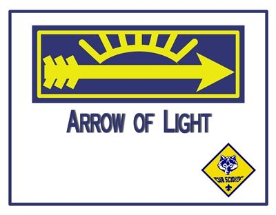 17 best arrow of light CS images on Pinterest Arrow of light - first place award certificate