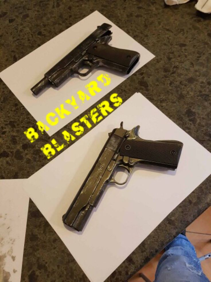 We LOVE to share others work on our social media! :-) Picture submitted by Zach, a fantastic custom paintjob! Please inbox us if you have any pics you would like us to post.  From the team, Backyard Blasters https://www.backyardblasters.com.au/? #toygun #colt1911 #guns #toys #custom #cosplay #props #locknload #backyardblasters