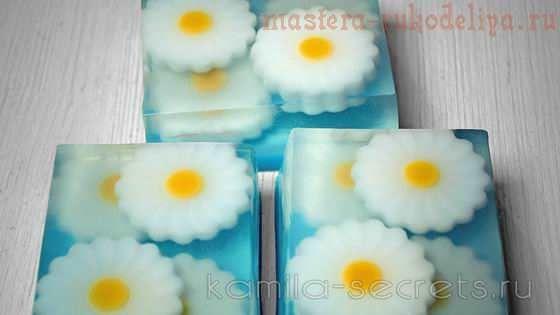 Видео мастер-класс по мыловарению: Весеннее мыло
