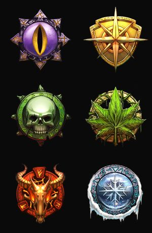 race icons by ~wande...