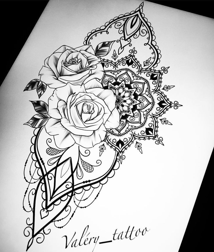 Mit Narzissen statt Rosen …. #tattoos – Flower Tattoo Designs