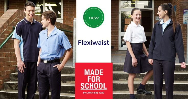 School uniforms designed for the kids who grow overnight!  Check them out on the blog - Natalie