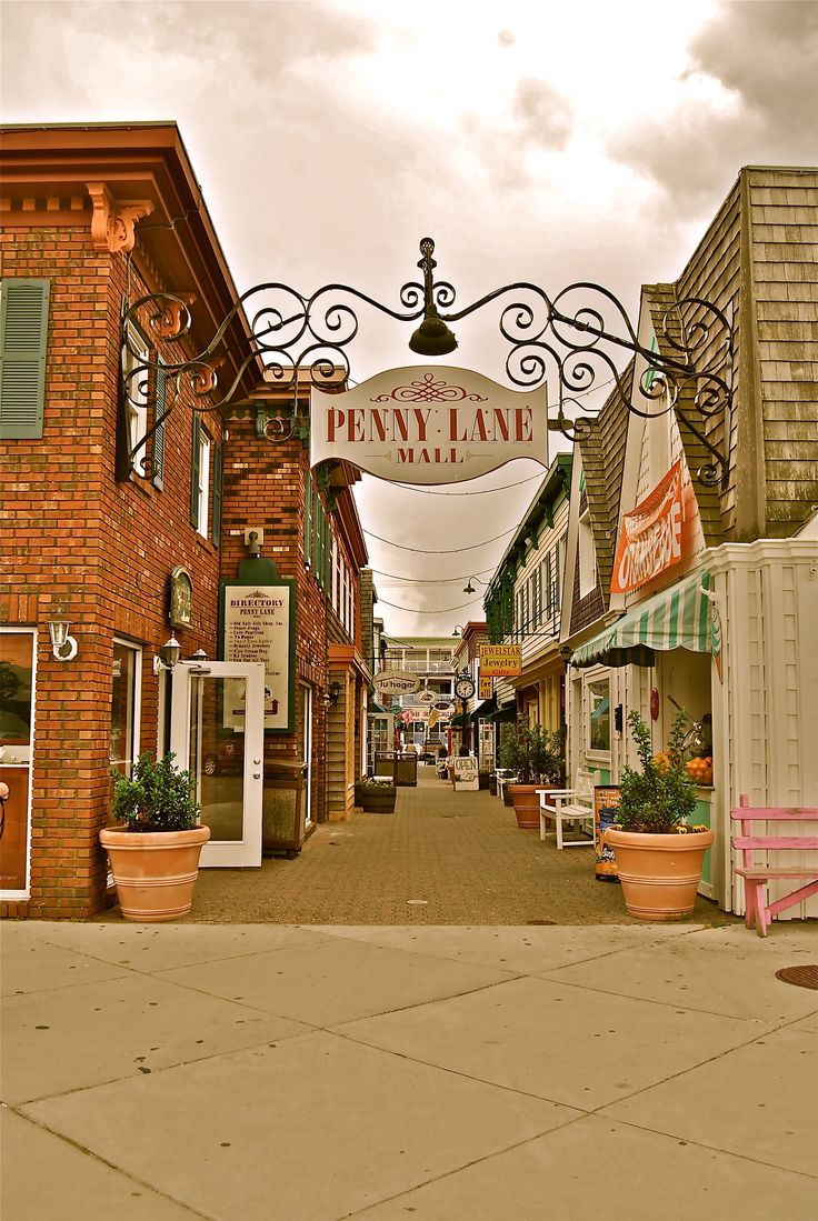 Penny Lane! Rehoboth Beach, DE.... The best little Bake Shop on the east coast.. Cafe Pappillion.