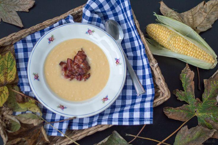 Cream corn & turnip soup / Krémová polievka z kukurice a kvaky