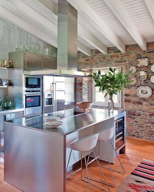 Más de 17 imágenes excelentes sobre cocinas acero inoxidable en ...