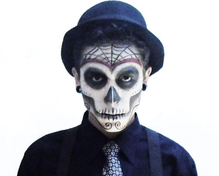 DIA De Los Muertos Makeup | Dia de Los Muertos by ~DWUP on deviantART