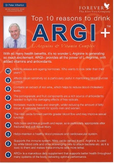 Top 10 reasons to drink Forever Argi+