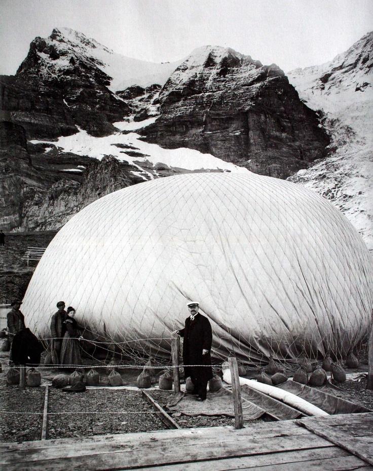 [Mystère #54] Eduard Spelterini avant une traversée des Alpes en ballon swgssdg 554x700