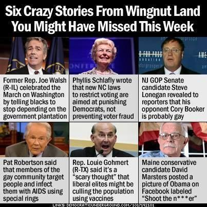 This week in wingnut news