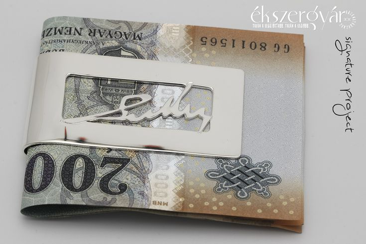 Signature Project - sterling silver money clip (10)