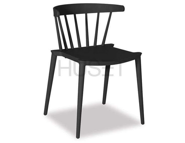 Black Saloon Chair by Enrique Marti Associates for OOLand