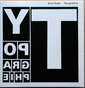Typographic book which uses the artists style to push forward the meaning of the book.