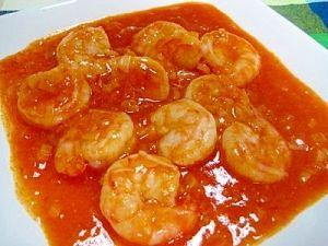 「プロ直伝!海老チリ」エビが大好物な私にとってこの海老チリは最高級の料理です(ΦωΦ)フフフ・・・・プリップリとして絶品です!【楽天レシピ】