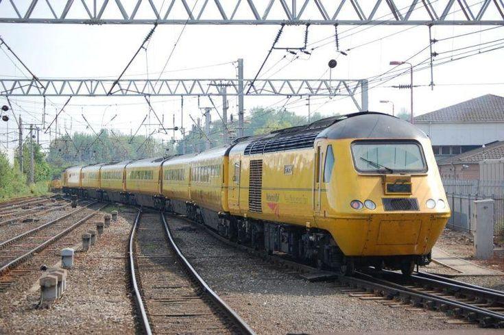 Network Rail Track Tester Train