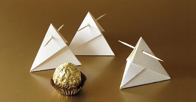 Inspiration.  Cool Chocolate Packaging by all things paper.