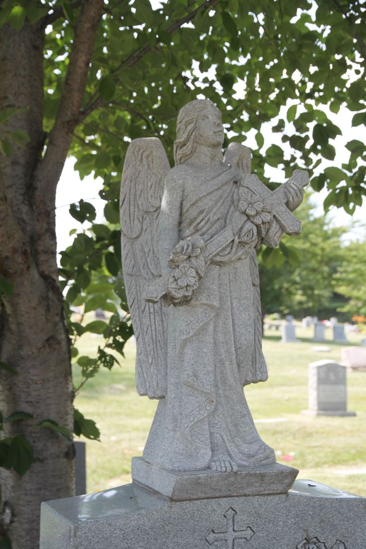 181 best tombstone symbols and picture stones images on pinterest angel with a cross messenger between god and man the cross symbolizing salvation biocorpaavc