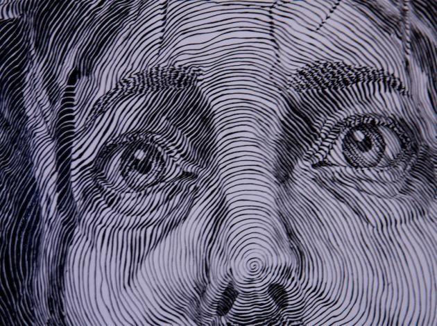 Contour Line Drawing Eye : 28 best continuous line drawing images on pinterest