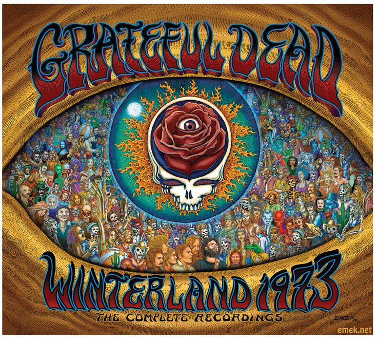 Emek Grateful Dead Album Cover Art | The Painted Note Gallery