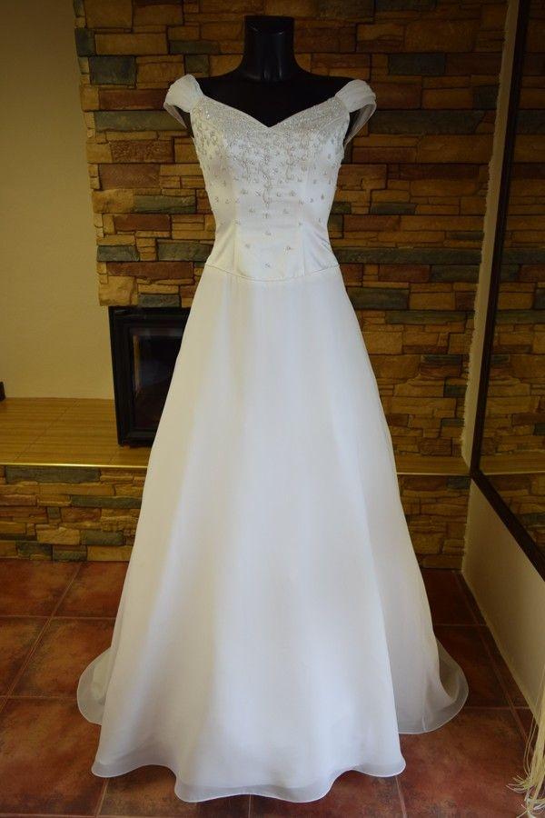 AKCE-nové  kvalitní svatební šaty, dovoz USA
