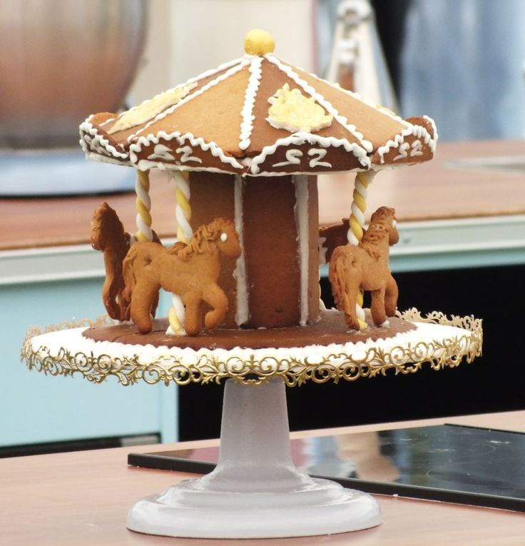I'd love to have a ride on Nancy's Gingerbread Carousel!