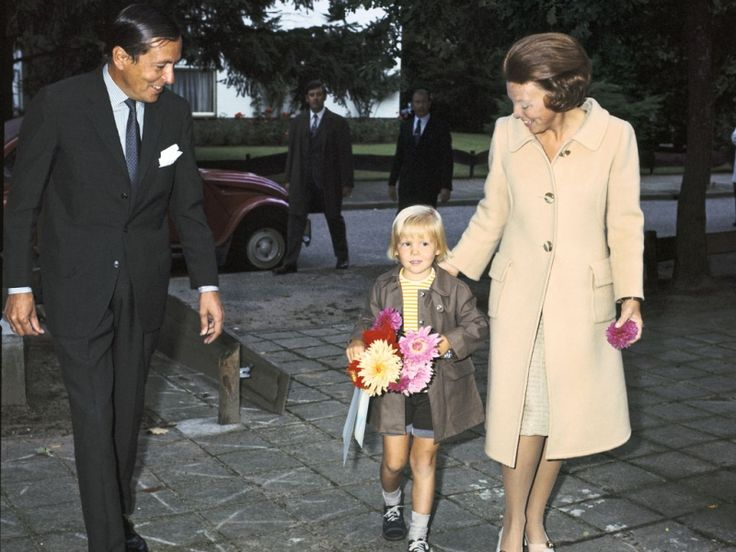 Prins Claus-Prins Alexander en Prinses Beatrix