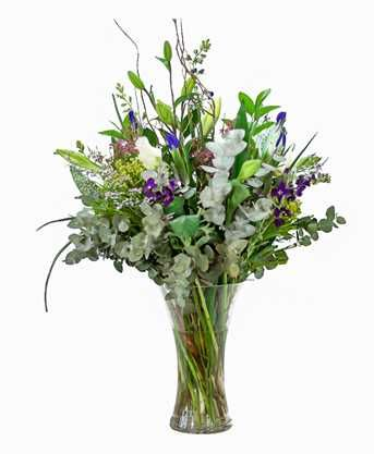 Blue and Grey Bouquet