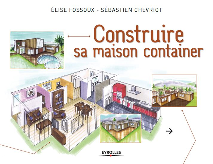Maison container carrée
