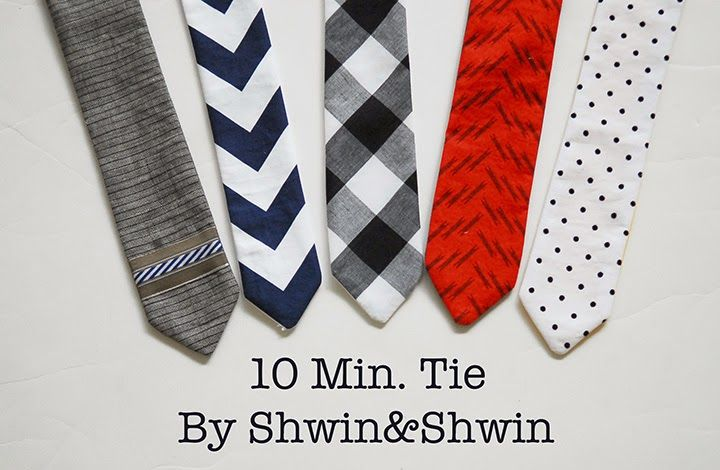 I really hope I am not the only mom who decides at the last min that your son just absolutely NEEDS a tie to complete his outfit. You know before church, or a school christmas pageant, or a special sewing competition photo shoot. (yes all three have happened to me in real life) So the …