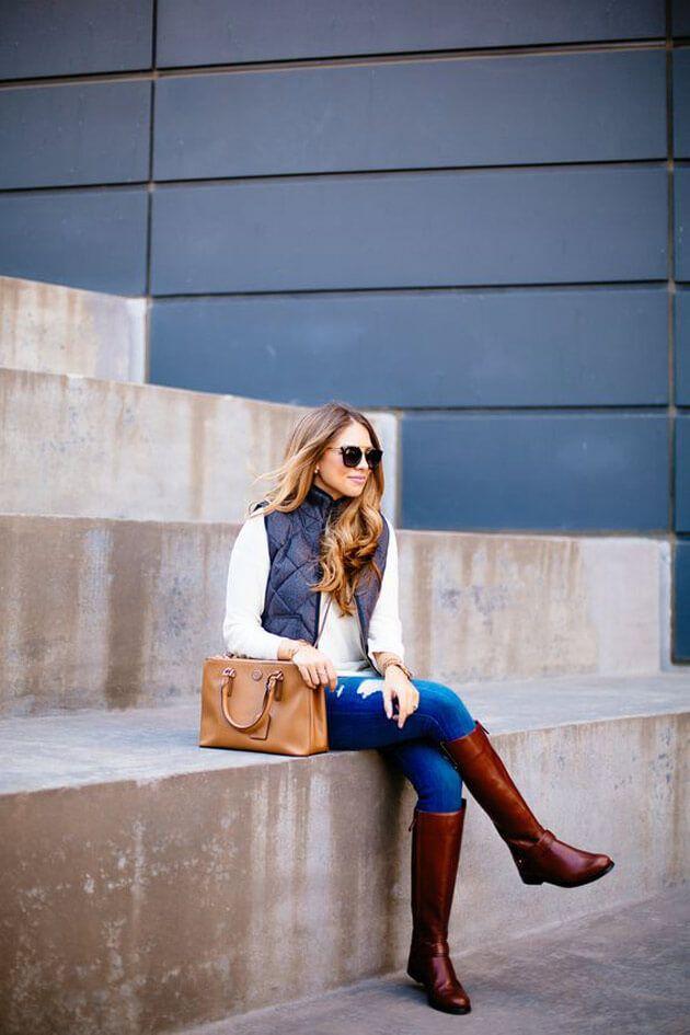 Como usar colete colete feminino colete preto colete de pelo colete matelasse maxi colete, vest - eucapricho - luiza gomes.