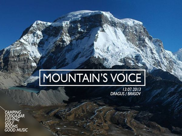 Mountain's Voice Festival - Preview 3.1 by Tudor Barbu, via Behance