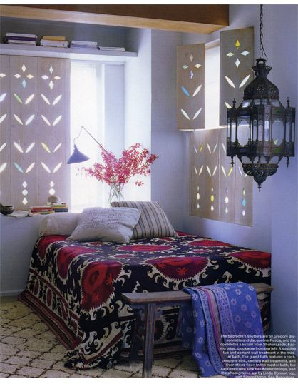 Go bohemian with your #shutters.
