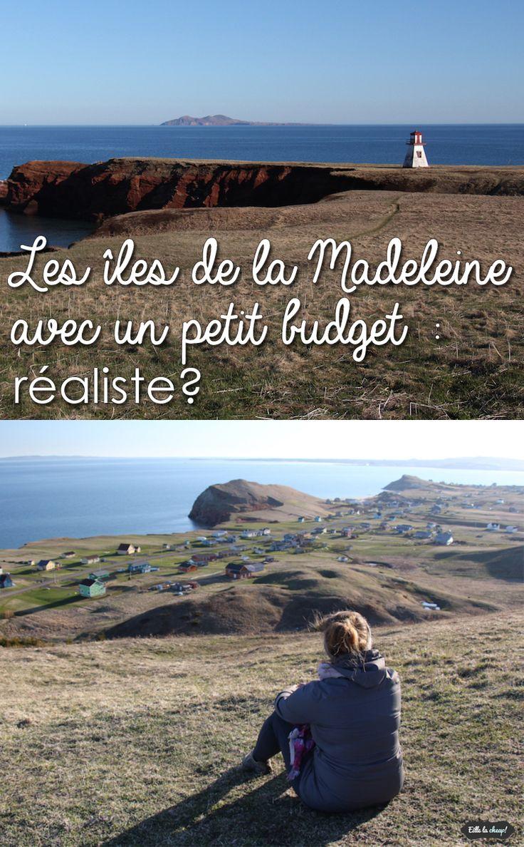 Les îles de la Madeline sont situées au Québec, mais loin du reste de la province! Est-ce possible de visiter avec un petit budget? Voici mes astuces sur eillelacheap.com