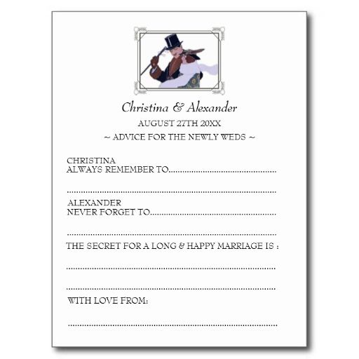 Vintage 1920s themed bridal shower ad libs-bridal shower advice to the future bride