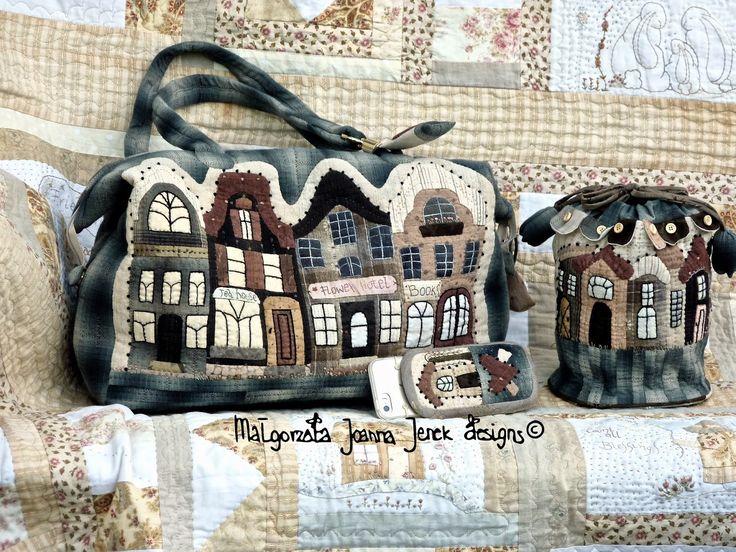 malgorzata.j.jenekdesigns©: Duze i male :) #quilt #pdfpattern #handappliqué…
