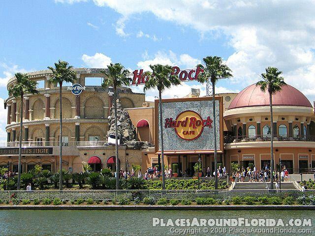 Hard Rock Cafe Universal Studios Orlando Concerts