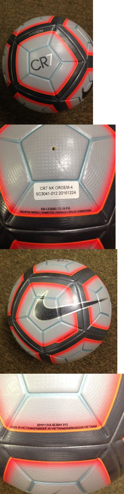 Balls 20863: Nike Ordem 4 Cr7 Official Match Ball - Cristiano Ronaldo Fifa New! -> BUY IT NOW ONLY: $119.95 on eBay!