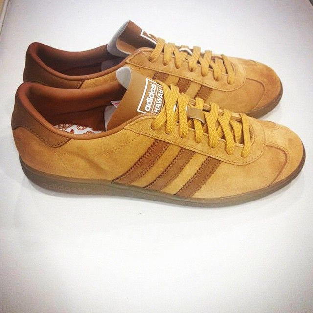 Brown Adidas Hawaii (release in 2015 )