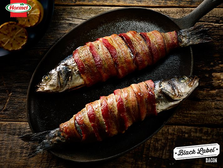 11 best bacon wrapped goodness images on pinterest for Bacon wrapped fish