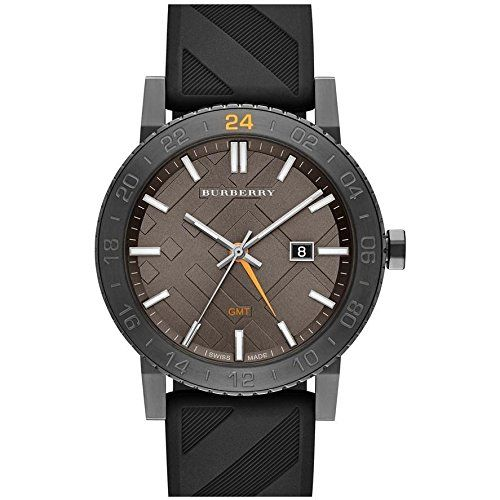Burberry BU9341 42mm Stainless Steel Case Black Rubber Anti-Reflective Sapphire Men's & Women's Watch