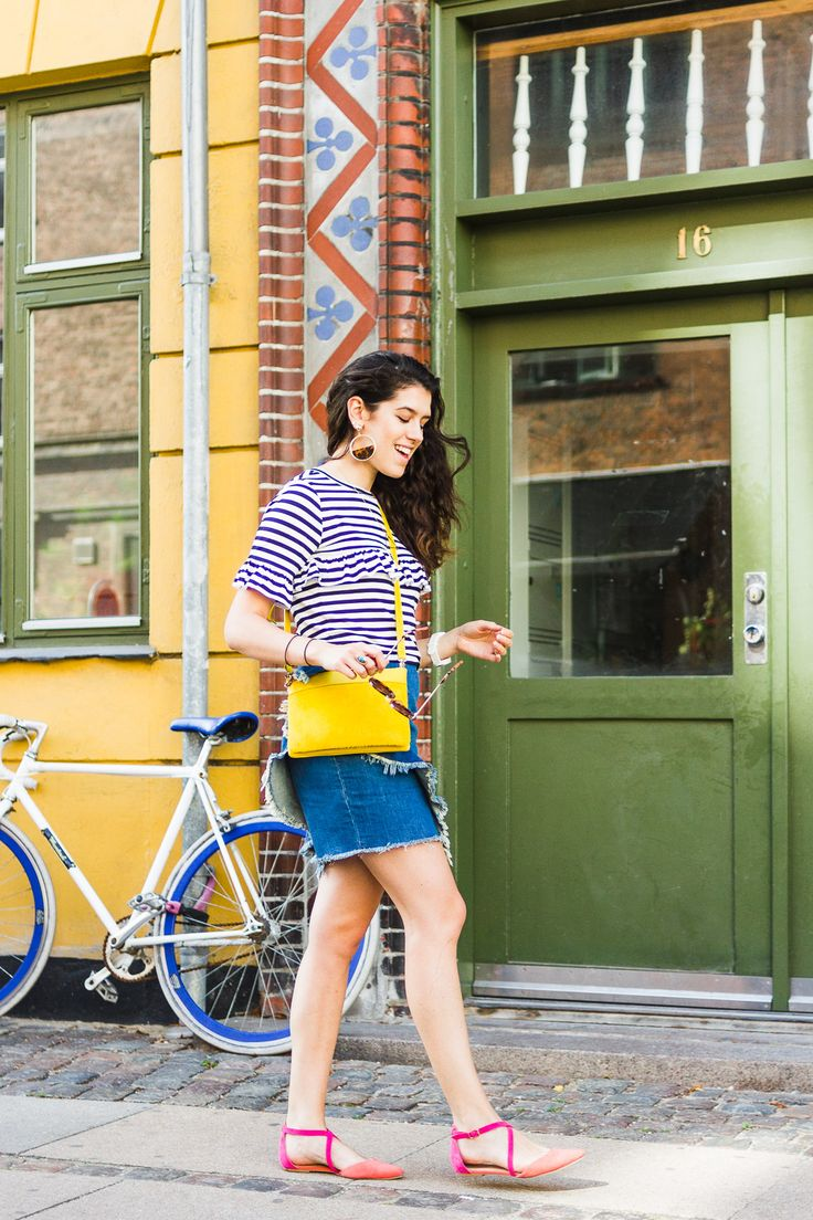 109 best my colourful outfits images on pinterest for Boden yellow bag