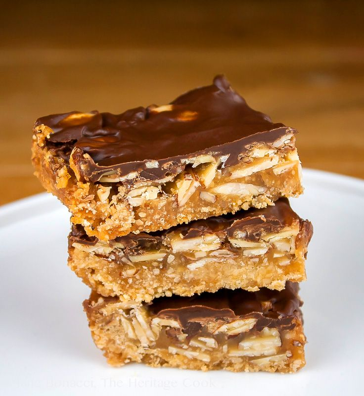 Brown Sugar Turtle Bars and Football - Perfect for the Super Bowl! 2014 Jane Bonacci, The Heritage Cook.