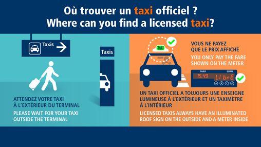 Paris-Charles de Gaulle en taxi